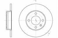 Тормозной диск передний VW GOLF III,PASSAT (3A2, 35I) 1.9 TDI(93-96г),VENTO (1H2)(-1998г),пр-во ABE C3W011ABE