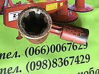 Перехідник валу карданного з 6 на 8 шліців з кріпленням під болт, фото 1