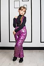 Детский полукомбинезон для девочки Верхняя одежда для девочек Pezzo D'oro Италия S04K4041