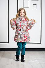 Детская куртка для девочки Верхняя одежда для девочек Pezzo D'oro Италия S06 K63025-1 Белый