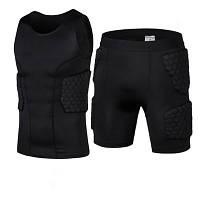 Комплект Защитный шорты+майка тренировочная одежда