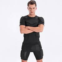 Комплект Защитный шорты+футболка , тренировочная одежда
