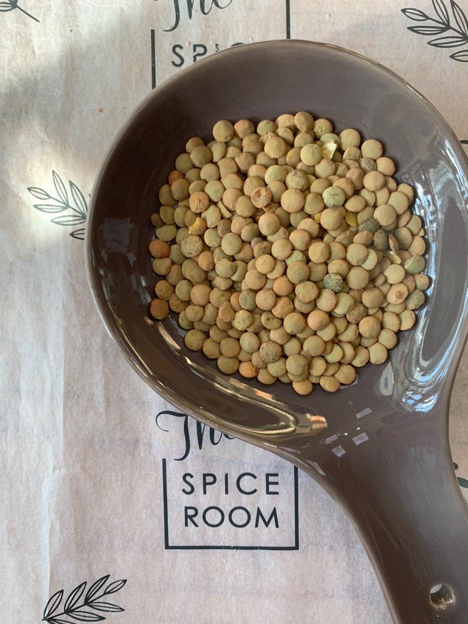 чечевица зеленая семена