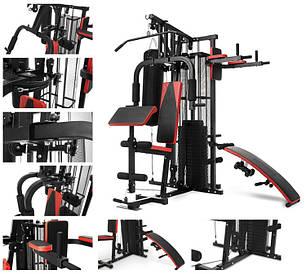 Многофункциональный тренажер ATLAS 70, четырехсторонний силовой тренажер, фото 2