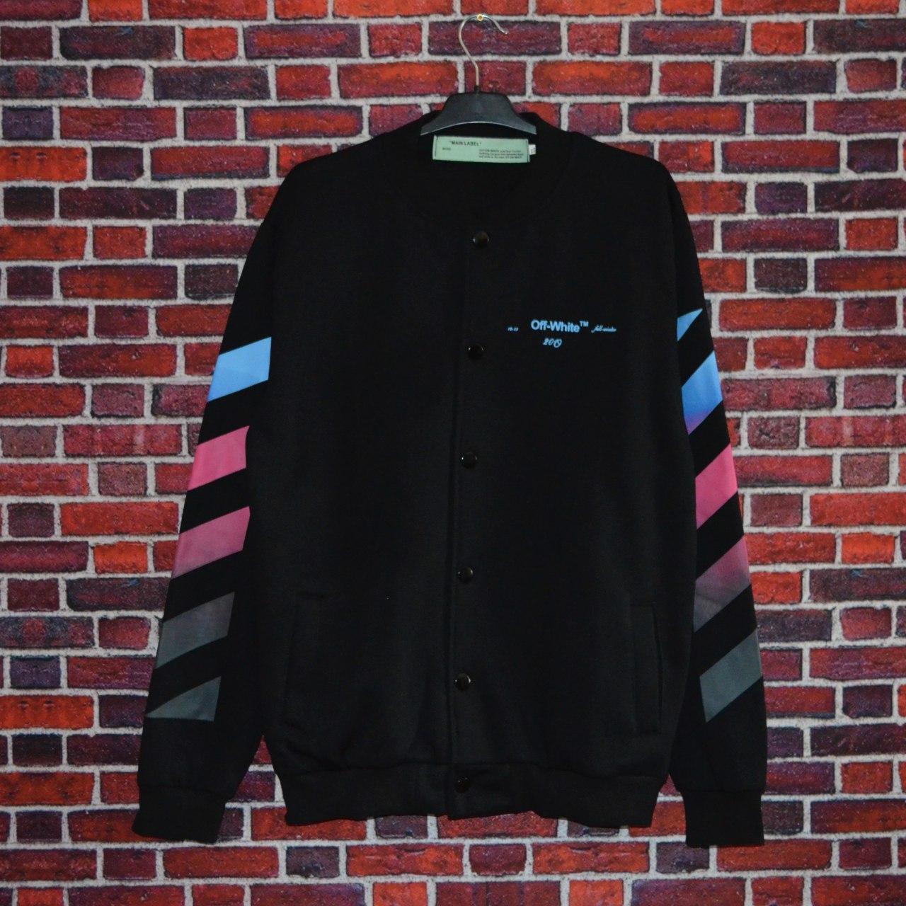 Бомбер Off-White business casual black