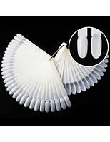 Матовый веер 32 ногтя