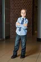 Детские брюки для мальчика Palomino Германия TERMO классический джинсовый 122