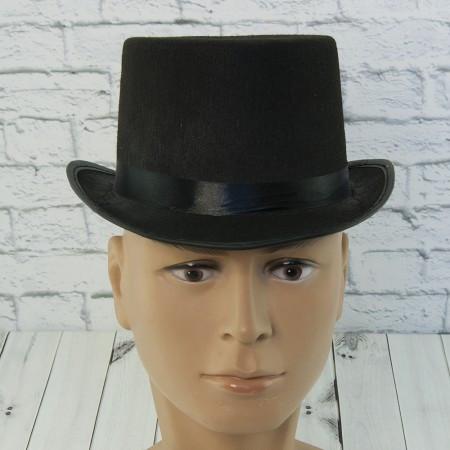 Шляпа детская Цилиндр фетр