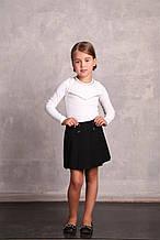Школьная юбка для девочки Школьная форма для девочек ПромАтельеСервис Украины КАТРУСЯ Синий