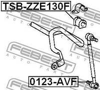 Втулка стабилизатора TOYOTA COROLLA седан (_E18_, ZRE1_) 2001-2007 г.