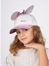 Дитяча кепка для дівчинки Одяг для дівчаток 0-2 Dembo House Україна САНТАНА Рожевий
