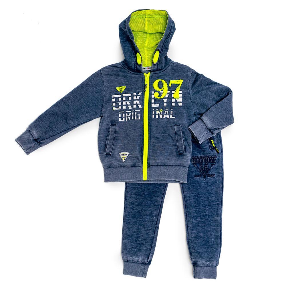 Костюм спортивный для мальчиков Brum baby 104  синий LM-290