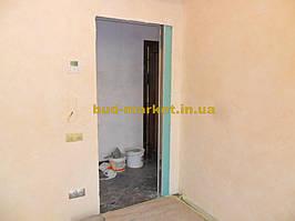 Установка межкомнатных дверей с витражными стеклами + подрезка и монтаж плинтусов 3