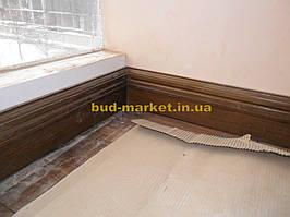 Установка межкомнатных дверей с витражными стеклами + подрезка и монтаж плинтусов 8