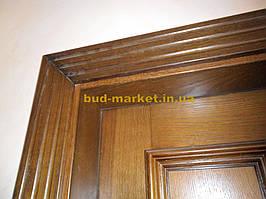 Установка межкомнатных дверей с витражными стеклами + подрезка и монтаж плинтусов 9