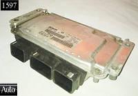 Электронный блок управления (ЭБУ) Peugeot 206 1.6 00-04г (NFU)