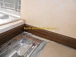 Установка межкомнатных дверей с витражными стеклами + подрезка и монтаж плинтусов 13