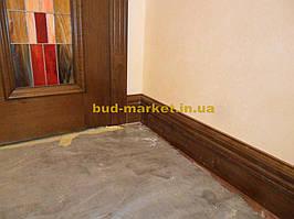 Установка межкомнатных дверей с витражными стеклами + подрезка и монтаж плинтусов 16