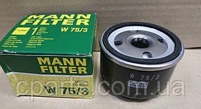 Масляний фільтр Renault Scenic 2 1.4-1.6 16V (Mann W75/3)(висока якість)