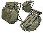 Рюкзак туристический с раскладным стульчиком 20л MIL-TEC Olive, (14059001), фото 2