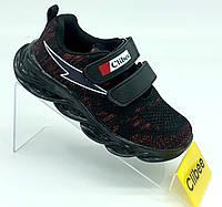 Качественные кроссовки с подстветкой clibee для мальчиков р.28 -  17,5 см, фото 1