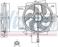 Вентилятор CITROEN C4 I Фургон/хетчбэк (LR_) / PEUGEOT 307 (3A/C) 2000-2015 г.