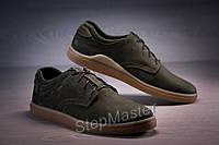 Кожаные мужские туфли Tommy Hilfiger Olive, фото 1