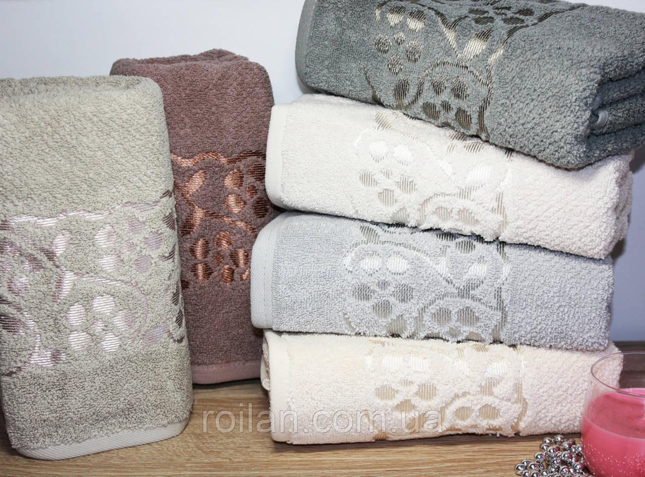 Лицевые турецкие полотенца  DOSSE