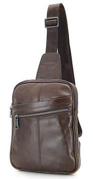 Рюкзак Vintage 14395 кожаный Коричневый, Коричневый