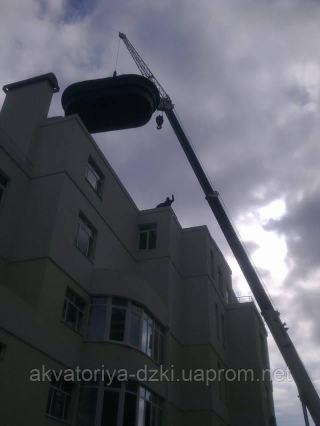 Басейн на даху