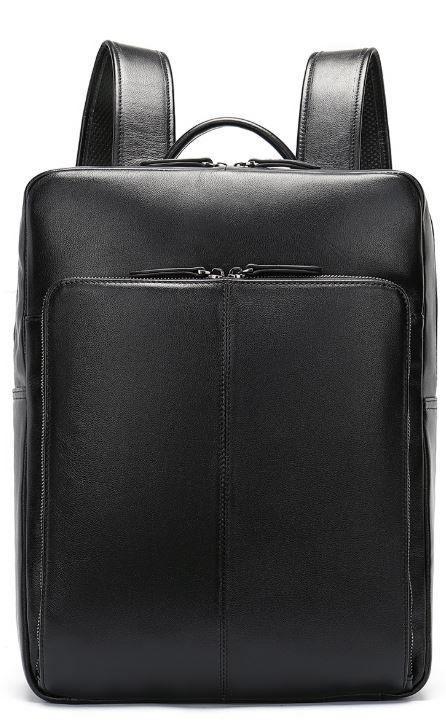Рюкзак кожаный Vintage 14822 Черный, Черный
