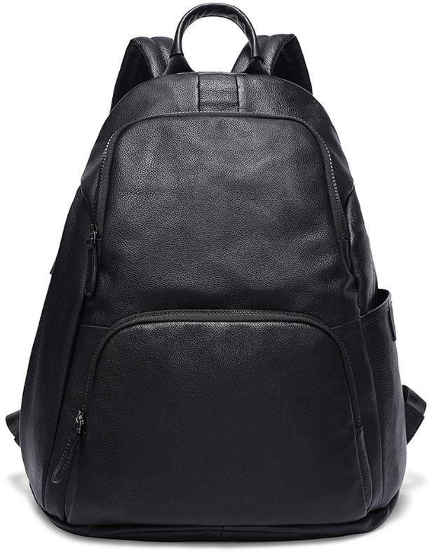 Рюкзак Vintage 14831 кожаный Черный