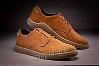 Кожаные мужские туфли Tommy Hilfiger Brown Leather, фото 1