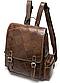 Рюкзак женский в клетку Vintage 20049 Коричневый, Коричневый, фото 2