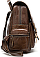 Рюкзак женский в клетку Vintage 20049 Коричневый, Коричневый, фото 3