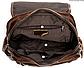 Рюкзак женский в клетку Vintage 20049 Коричневый, Коричневый, фото 8