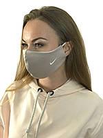Маска многоразовая медицинская тканевая.Защитная маска лица натуральная
