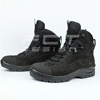 Ботинки зимние Командос нубук Тинсулейт черные