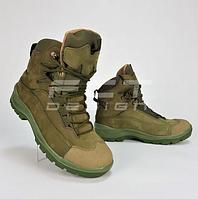 Ботинки зимние Командос нубук Тинсулейт хаки, фото 1