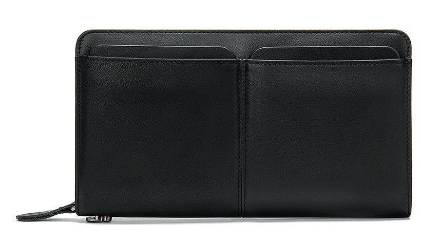 Мужской клатч-барсетка с ремешком на руку Vintage 14656 Черный, Черный