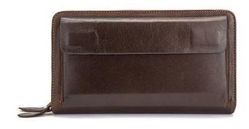 Мужская барсетка с ремешком на руку Vintage 14915 Коричневая, Коричневый