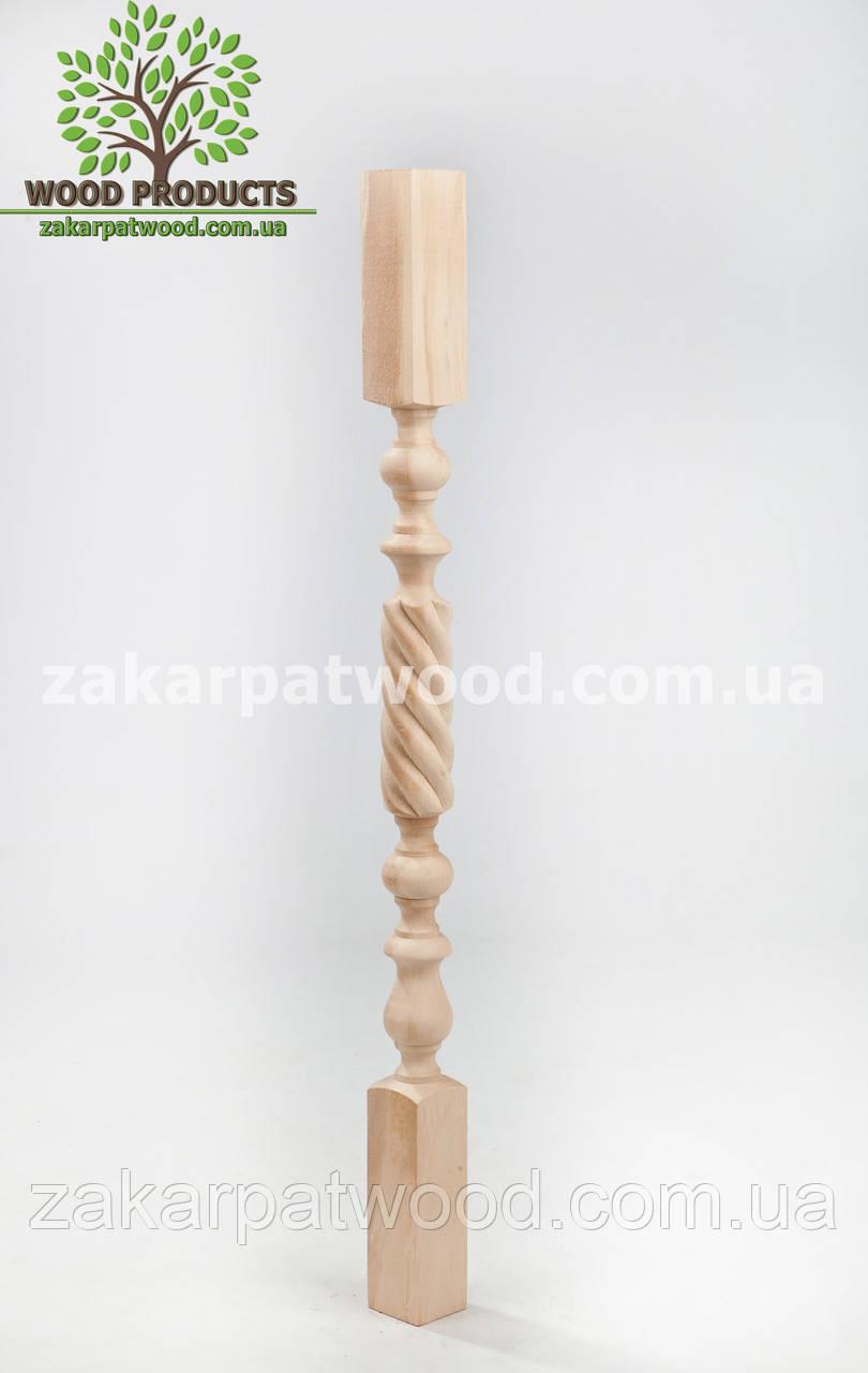 Балясина гвинтова (бук) 90*5*5см