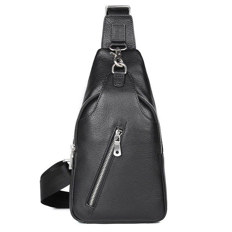Сумка мужская флотар через плечо Vintage 14973 Черная, Черный