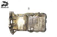 Масляный поддон Opel Astra G H, Опель Астра Г 1.4 Z16XEP №8 9128621 0077007