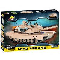 Конструктор Cobi Танк M1 Абрамс 815 деталей (COBI-2619), фото 1