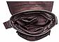 Сумка через плечо из кожи Vintage 20022 Коричневая, Коричневый, фото 4