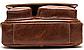 Сумка мужская вертикальная кожаная Vintage 20029 Коричневая, Коричневый, фото 5