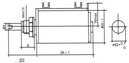 Резистор переменный 5,6 кОм проволочный многооборотный, фото 2