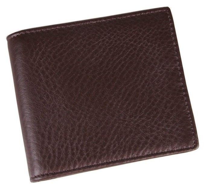 Кошелек мужской Vintage 14367 кожа Коричневый, Коричневый