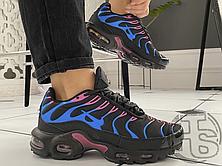 Женские кроссовки Nike Air Max Plus Miami Vice Black/Blue/Pink C12368-001, фото 3